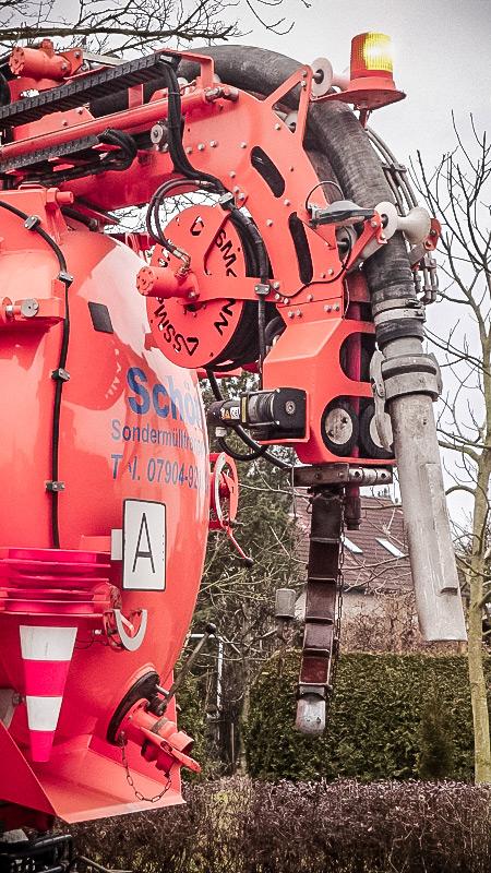 Hochdruckspül-Saugwagen Kanalreinigung