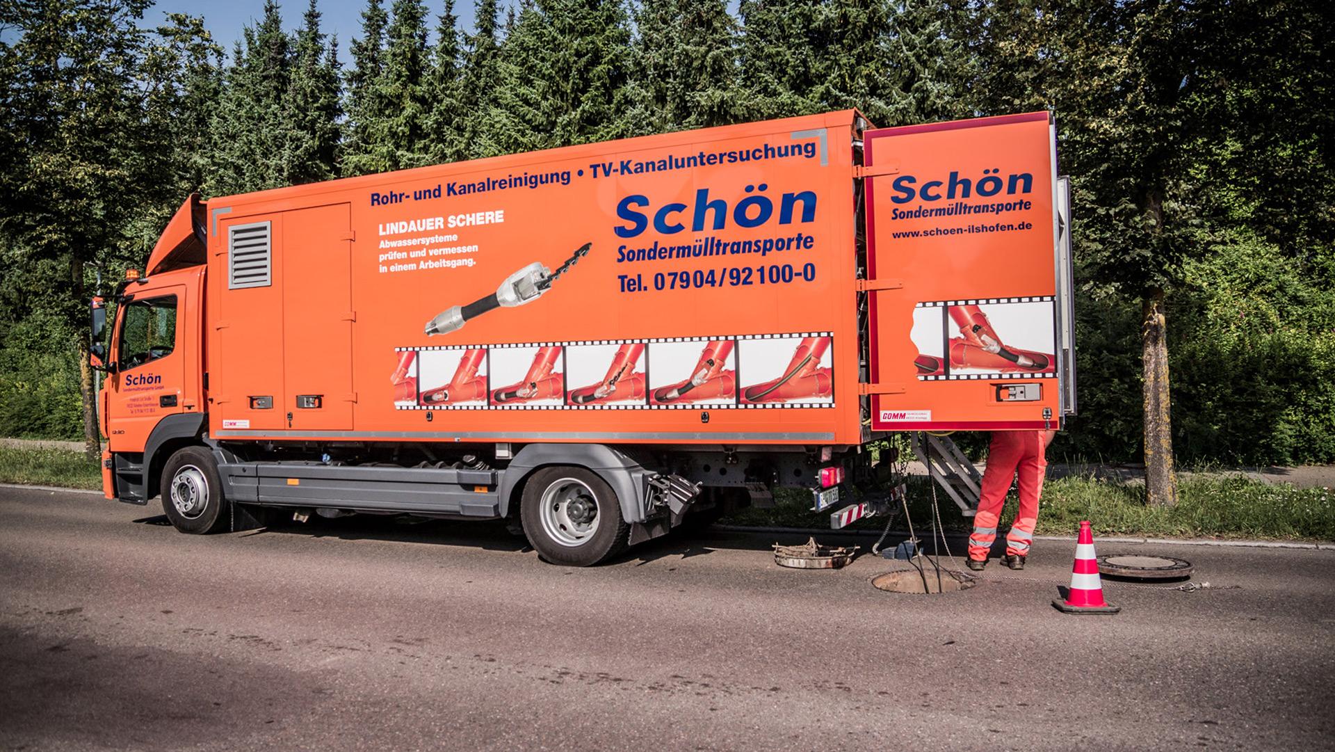 Lindauer Schere Fahrzeug
