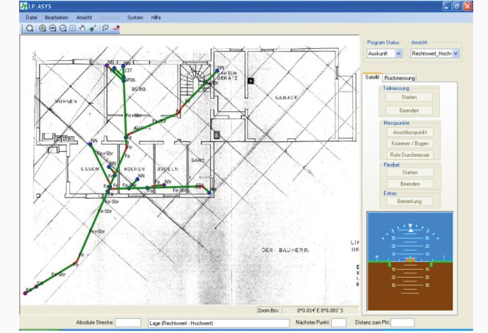 ASYS Ortungs- und Kanalverlaufsmesssystem